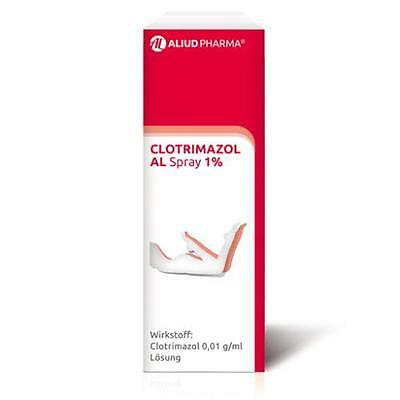 CLOTRIMAZOL AL Spray 1% 30 ml PZN 3753705