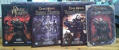 Dark Heresy In Italiano Manuale Base & Supplementi & Bundle Gioco di Ruolo