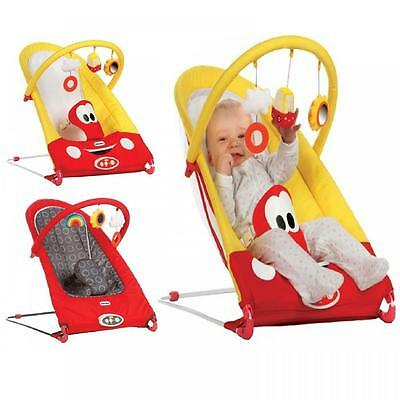 New Little Tikes Vibrating Baby Rocker Bouncer Reclining Chair Musical Seat Toys