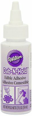 Wilton # 927 Dab-N-Hold Edible Adhesive Cake Sugar Sheets Gum Paste Decorations