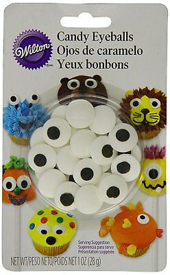 Wilton Large Candy Eyeballs Sugarcraft Cake Cupcake Cookies Fun Icing Decoration