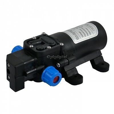 12V  DC 60W  WATER PRESSURE DIAPHRAGM PUMP HIGH 5L/MIN Caravan /Boat/ RV