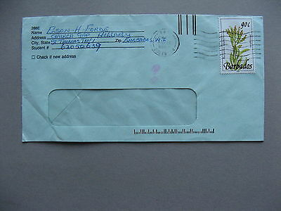 BARBADOS, cover to the USA 1993, Rock bush Euphorbia