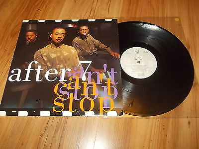 """After 7-Can't stop-1990 12"""" single"""