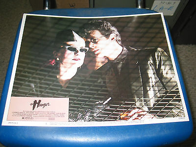 The Hunger / Orig. U.s. 11X14 Lobby Card Set Of 8(David Bowie/catherine Deneuve)