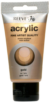 Reeves Acryl 75ml Gold
