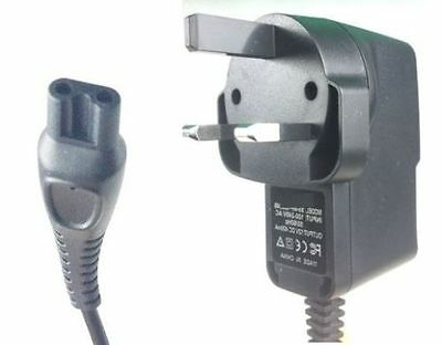 Replacement Shaver Charger Power Lead for Philips UK 3 Pin Plug SERIES 5000