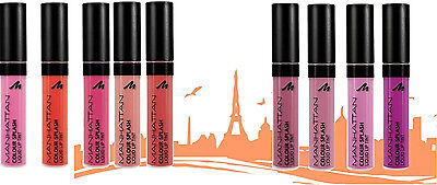 Manhattan Colour Splash Liquid Lip Tint Matte Finish Brand New **choose Shade**