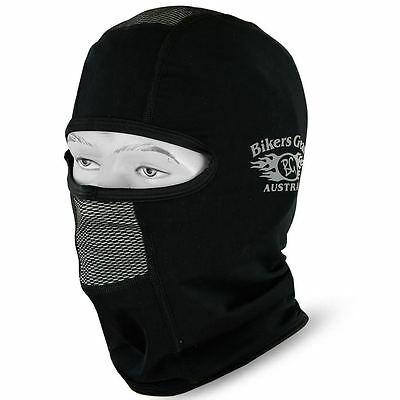 New Roubai Thermal Motorcycle /Motorbike/ Cycling Balaclava Black 1 Size fit ALL