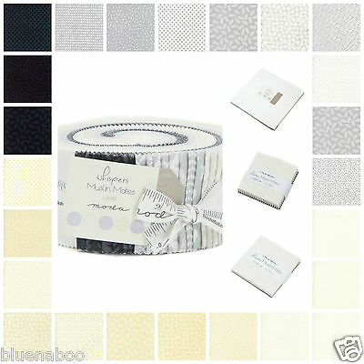 WHISPER by Moda tonal fabric cotton jelly roll charm pack layer cake mini charms
