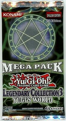 YuGiOh! Legendary Collection 3 UNL Edition New And Sealed Booster Pack x1