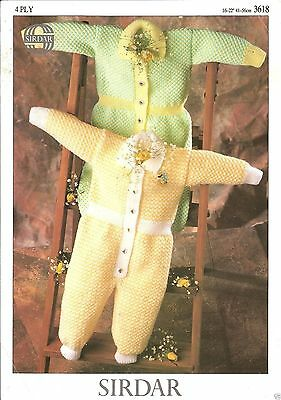 """Knitting Pattern:  ROMPER SUIT FOR BABIES Sizes 16"""" - 22""""/ Baby Knitting Pattern"""
