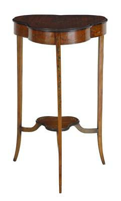 Early 20Th Century Satinwood Occasional Table With Painted Decoration