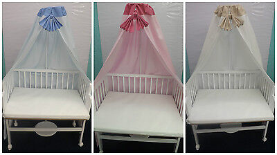Baby Next-To-Mum Bedside crib Next to Bed Side by Side Crib Cot + Mattress
