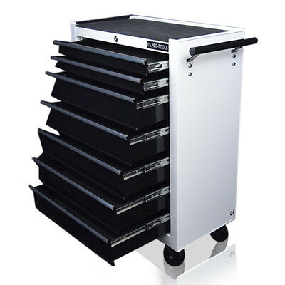347 Us Pro Tools Affordable Steel Chest Tool Box Roller Cabinet 7 Drawers