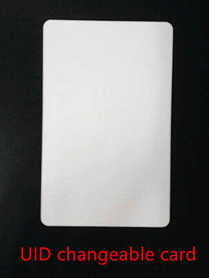 UID changeable card compatible with MCT block 0 direct writable by phone x1