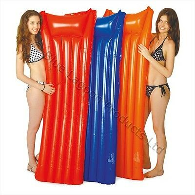 New Inflatable Matt Lilo Mattress Lounger Swimming Pool Air Mat + Puncture Seal