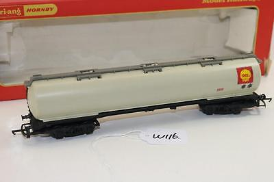 Triang Hornby R.669 Shell 100 Ton Oil Tanker freight wagon W116