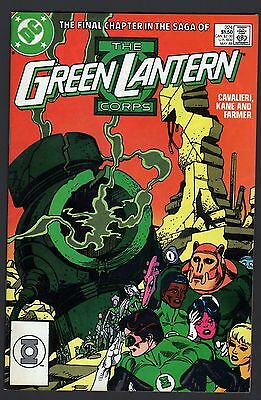Green Lantern Corps (1960) #224 VF+ (8.5) last issue