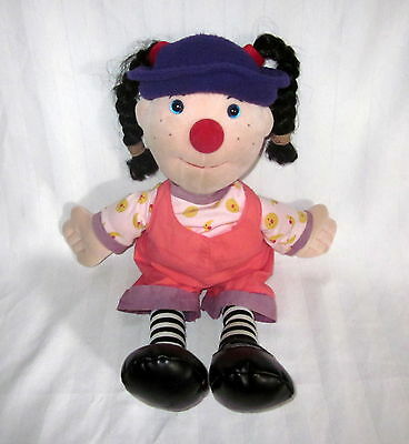 "Big Comfy Couch Loonette Plush 1995 Soft Doll 24"" Girl Molly"
