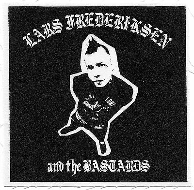 RANCID: LARS FREDERIKSEN And The BASTARDS first album cover CLOTH PATCH sew on