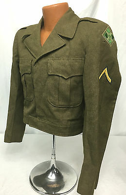 WWII US Army 4th Infantry Division Ike Jacket