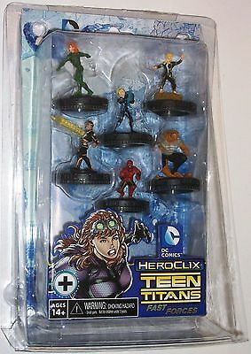 "TEEN TITANS ""Ravagers"" FAST FORCES PACK DC HeroClix"