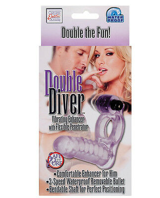 Double Penetrator Double Diver Erection Ring