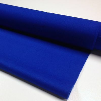 ENGLISH Hainsworth Pool Snooker Billiard Table Cloth Felt kit 9ft  ROYAL BLUE