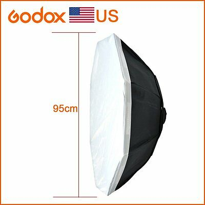 "Godox Octagon Softbox 37"" 95cm Bowens Mount for Studio Strobe in USA"