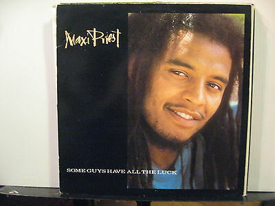Maxi Priest - Some Guys Have All the Luck - 2 Mixes plus 2 - Vinyl- Free UK Post