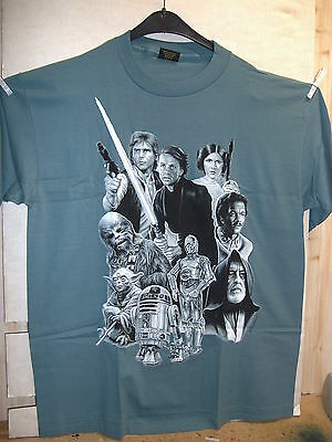 Vintage T-Shirt: Star Wars - The Good Guys (XL) (USA, 1995)