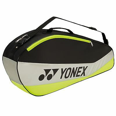 Yonex 5523 Club 3 Racket Bag For Badminton Tennis Squash Racquetball Gear
