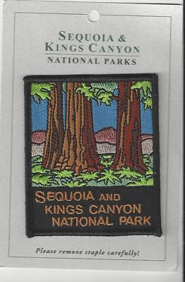 Sequoia and Kings Canyon National Parks Souvenir Patch  Sequoia Grove