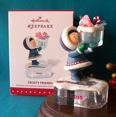 HALLMARK Ornament 2015 Frosty Friends 36th in Series