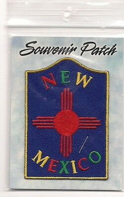 Colorful Souvenir  Patch - State Of New Mexico
