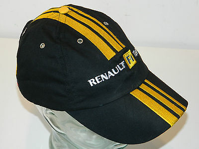 rare casquette renault team f1 r30 formule 1 robert kubica vitaly petrov cap car eur 39 99. Black Bedroom Furniture Sets. Home Design Ideas