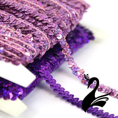 Sequin Trim - 1 Row Stretch Braid (1 metre) - Dance Costumes