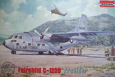 RODEN® #056 Fairchild C-123B Provider in 1:72
