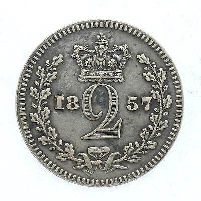 1857 Queen Victoria Maundy 2d Twopence Lot D10