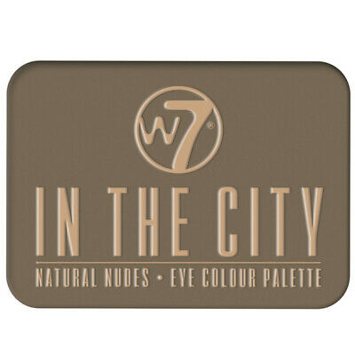 W7 Makeup Make Up Ombretto Tavolozza Naked Nude Natural Colori - In The City