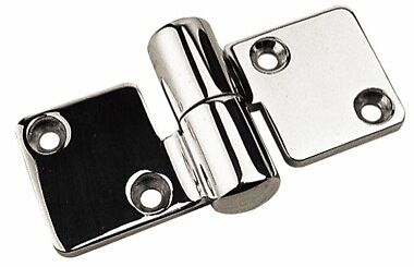 Boat Marine Take-Apart Hinge - Left Hand 2 Pack Hatch 316 Cast Stainless Steel