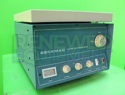 Beckman TJ-6RS Benchtop Centrifuge with Swing Bucket Rotor