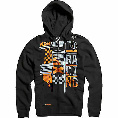 Fox - KTM Konstruct Zip Black Hoodie - 2X-Large