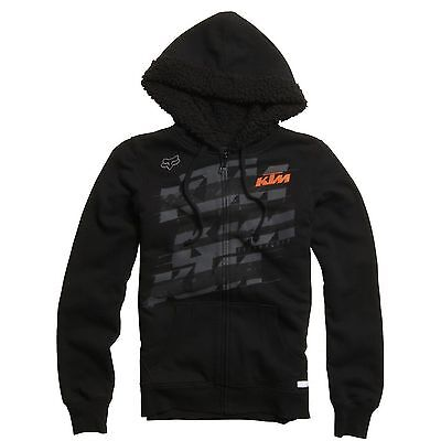 Fox - KTM Dividend Sherpa Zip Black Youth Girl Hoodie - Small
