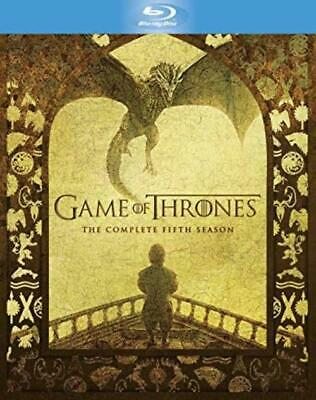 Game of Thrones The Complete Fifth 5 5th Season Blu-ray Disc 2016 4-Disc Set