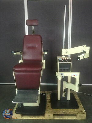 Marco Deluxe Ophthalmic Eye Exam Chair and Instrument Stand