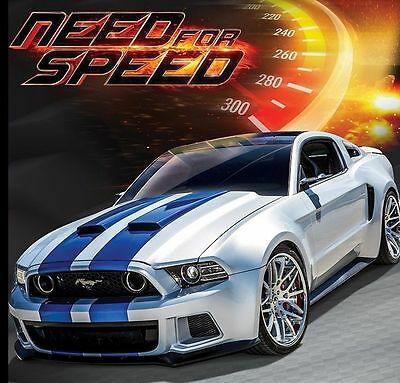 Maisto 1:24 Diecast Racing Car Model Need For Speed Ford Mustang Toy New In Box