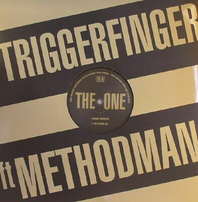 "TRIGGERFINGER feat METHOD MAN - The One - Vinyl (12"")"