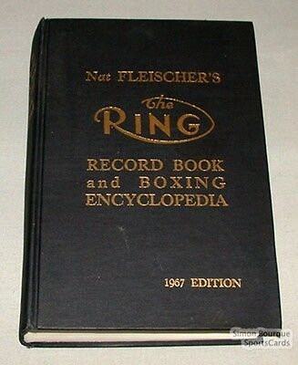 Orig. 1967 The Ring Record Book & Boxing Encyclopedia